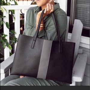 """Vince Camuto """"Luck"""" Vegan Tote"""
